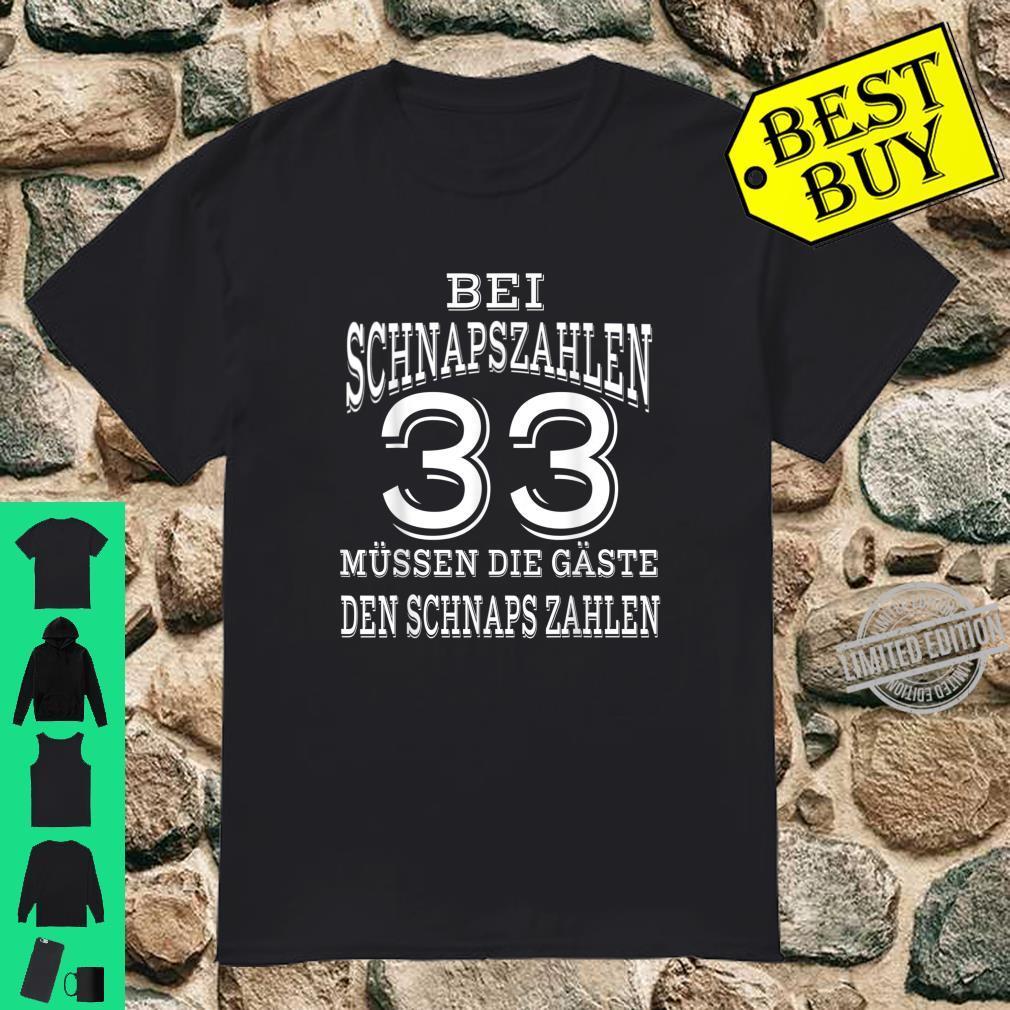 33. Geburtstag lustige Geschenkidee Jahrgang 1987 Shirt