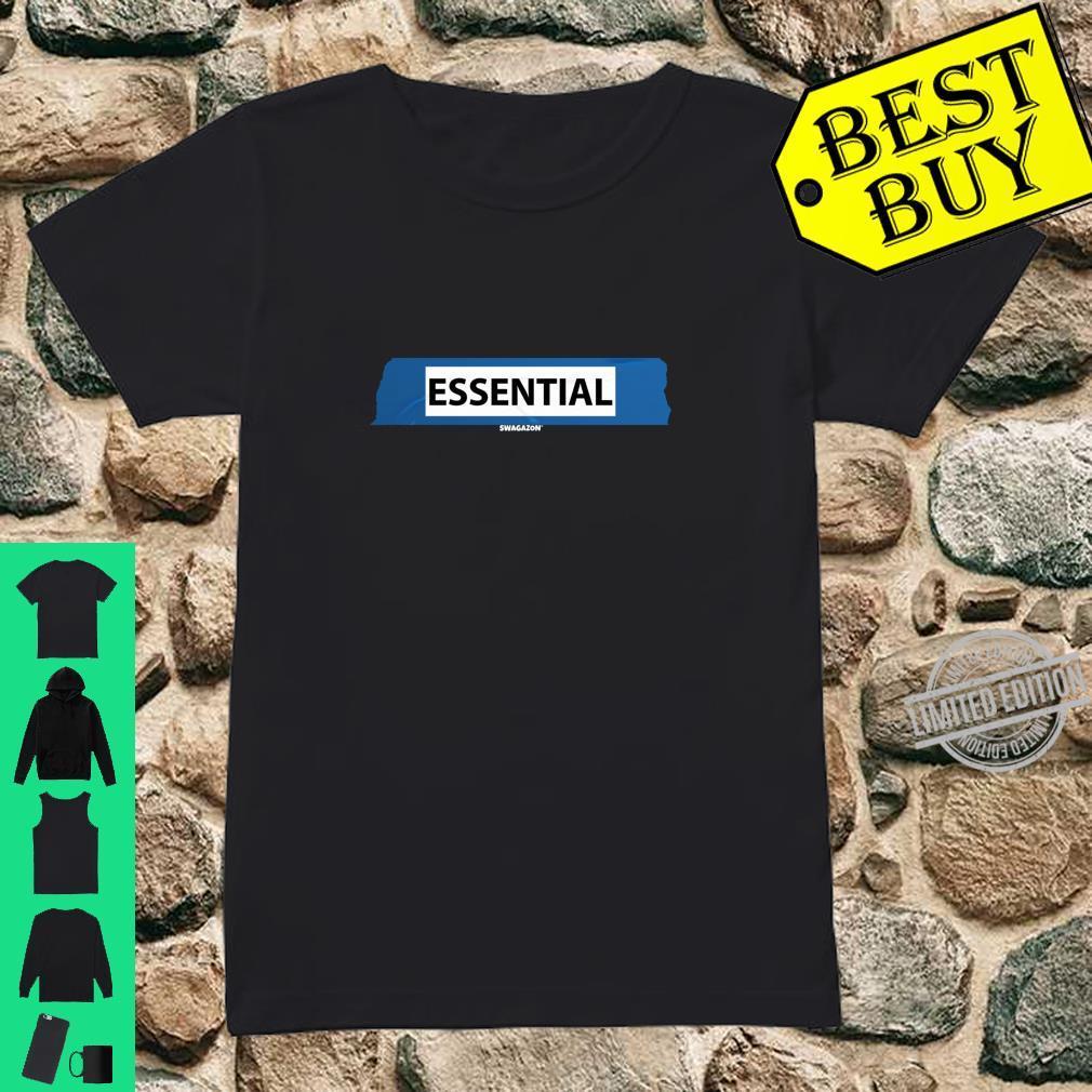 5S Label Essential Swagazon Associate Coworker Swag Shirt ladies tee