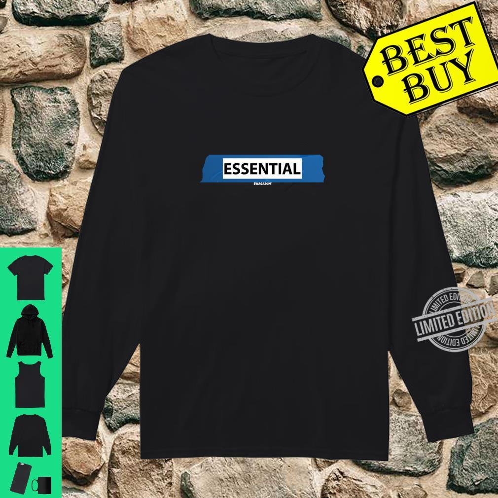 5S Label Essential Swagazon Associate Coworker Swag Shirt long sleeved