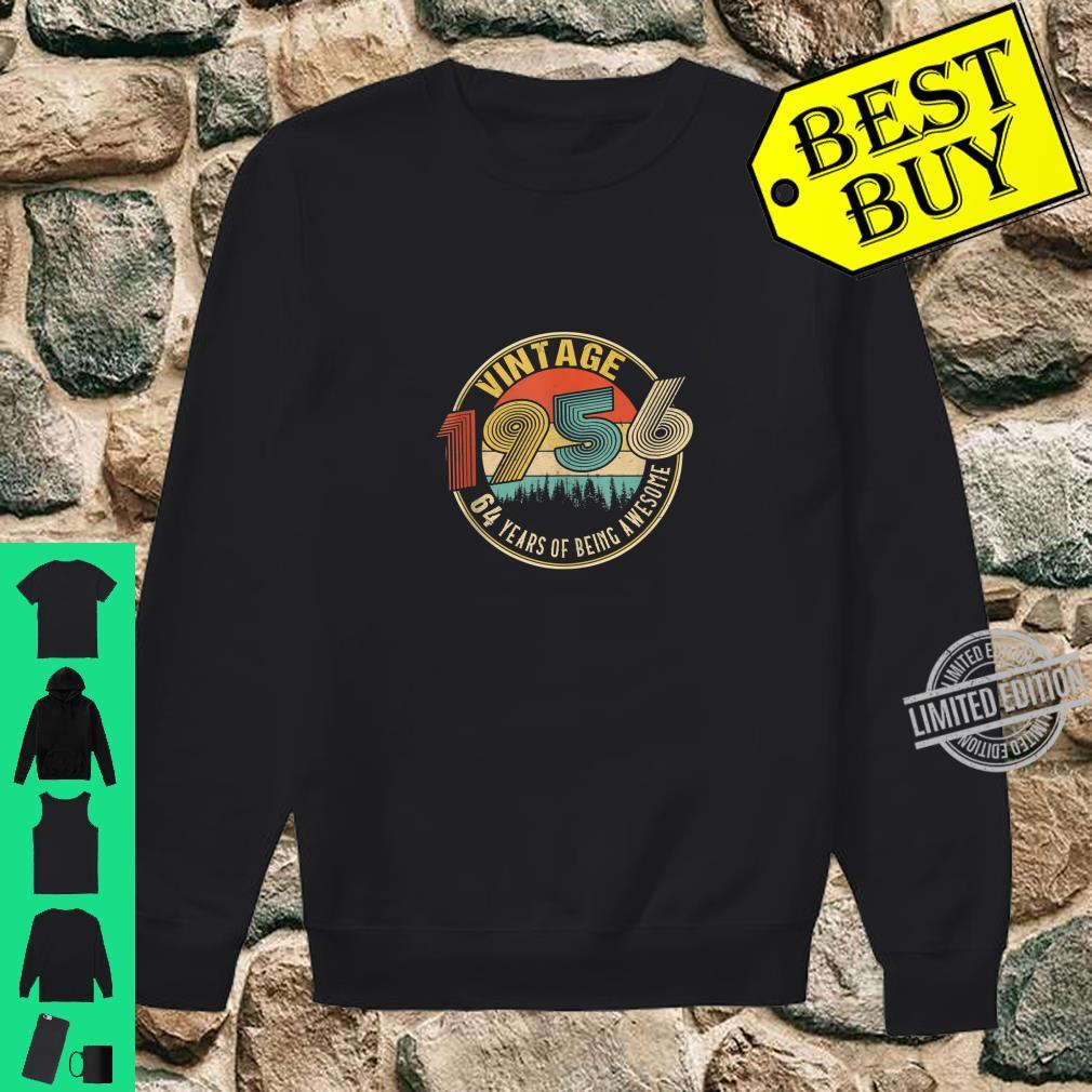 64 Years Old Born in 1956 Vintage 64th Birthday Shirt sweater
