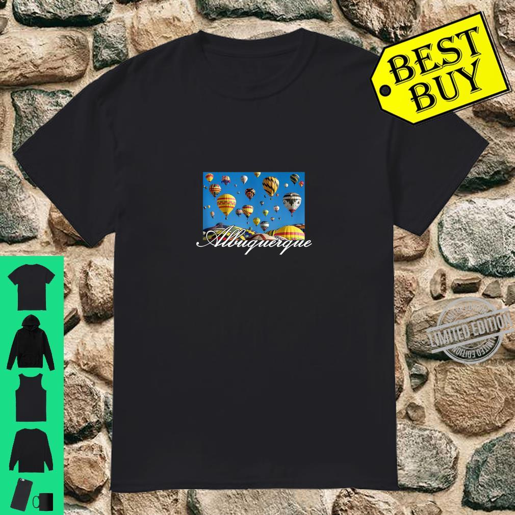 Albuquerque Hot Air Balloon Souvenir Shirt