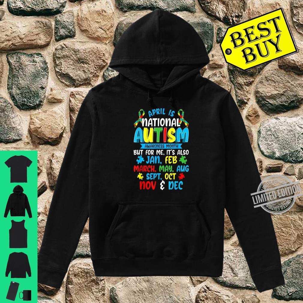 Autism Awareness April Is National Autism Awareness Month Shirt hoodie