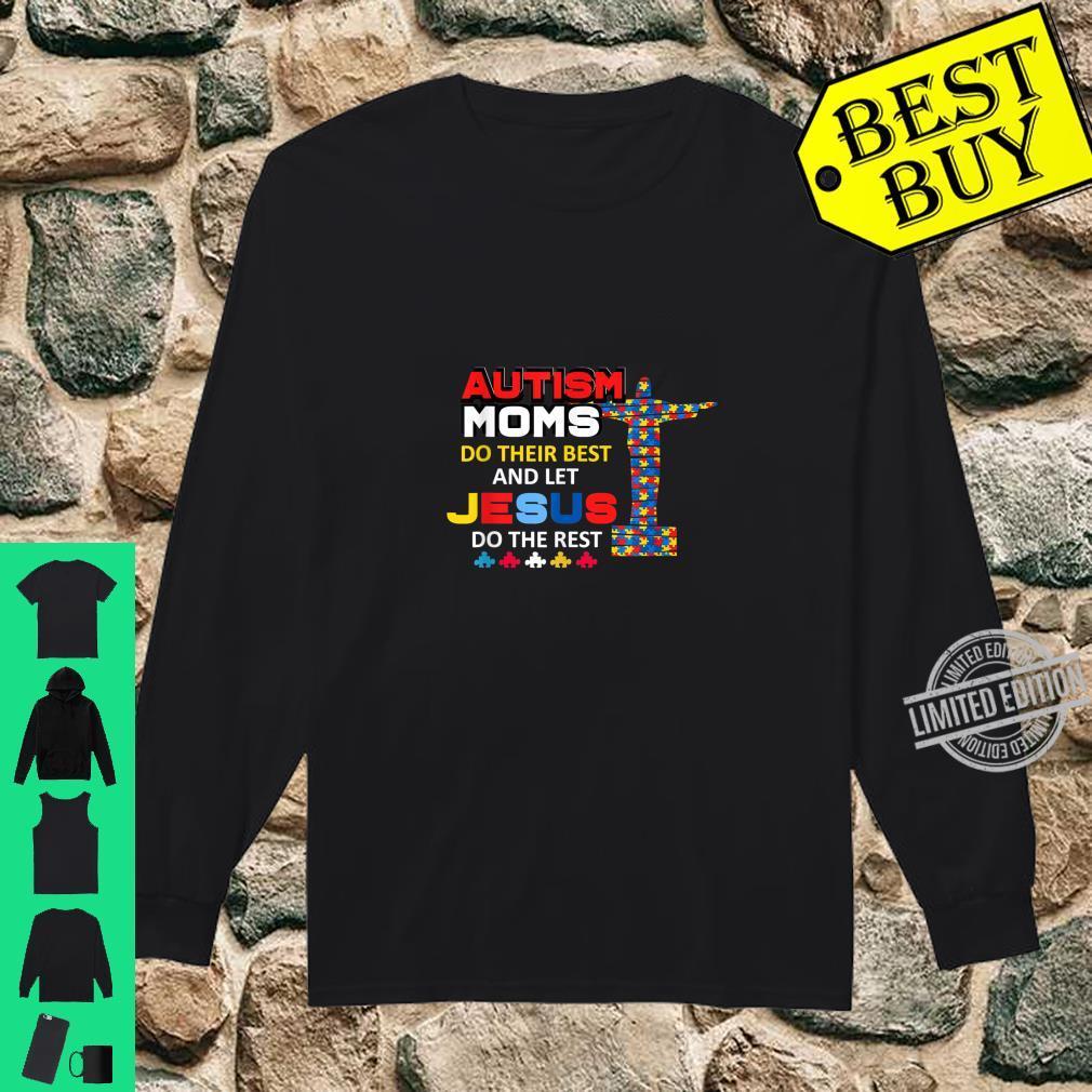 Autism Mom Autism Awareness Shirt long sleeved