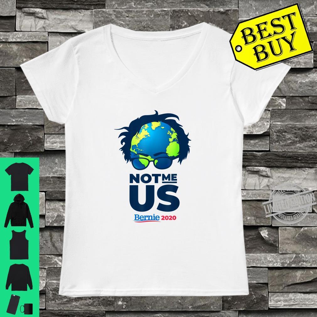 Bernie Sanders 2020 Climate change Awareness Support Shirt ladies tee