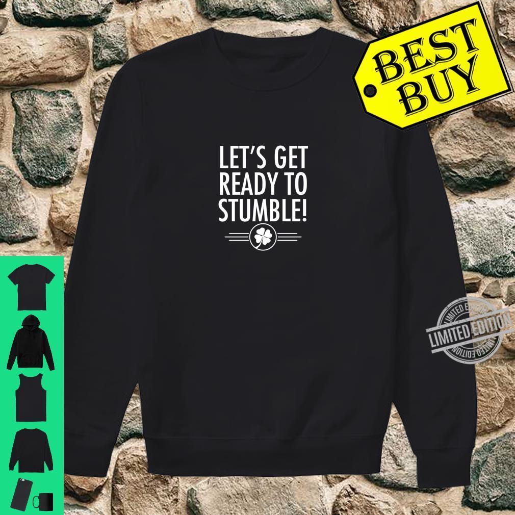 Best St. Patrick's Day Irish Beer Drinking Shirt sweater
