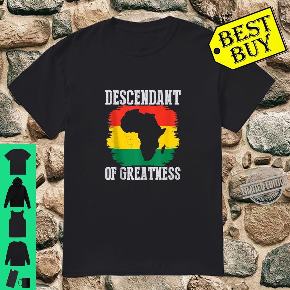 Black Pride Black History Month African American Shirt