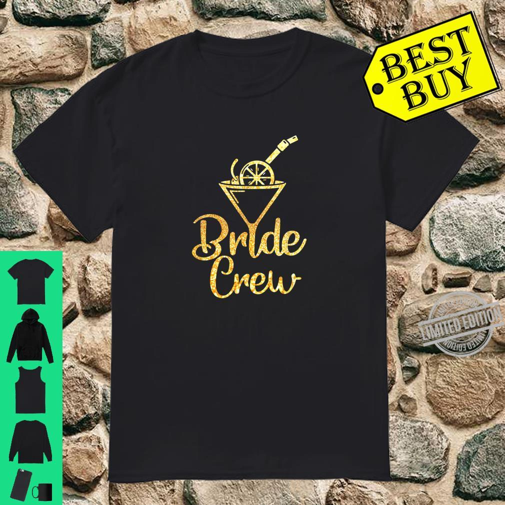 Bride Crew JGA Team Braut Hochzeit Gruppe Mannschaft Shirt