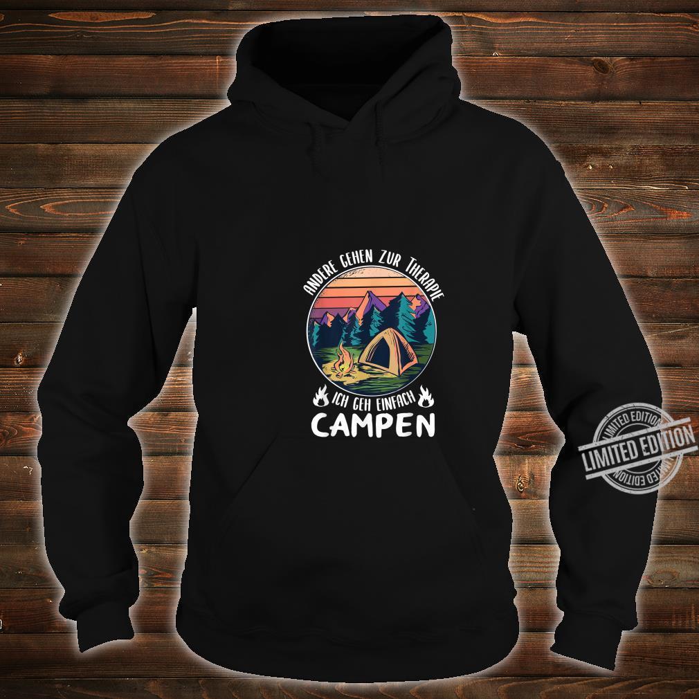 Herren T-Shirt mit Motiv Wohnmobilisten Spruch Wohnmobil Männer Camper Camping