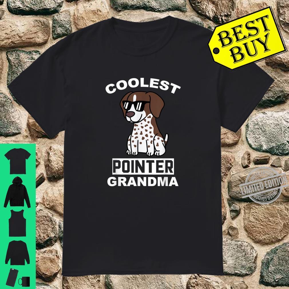 Coolest German Shorthaired Pointer Grandma Dog Shirt