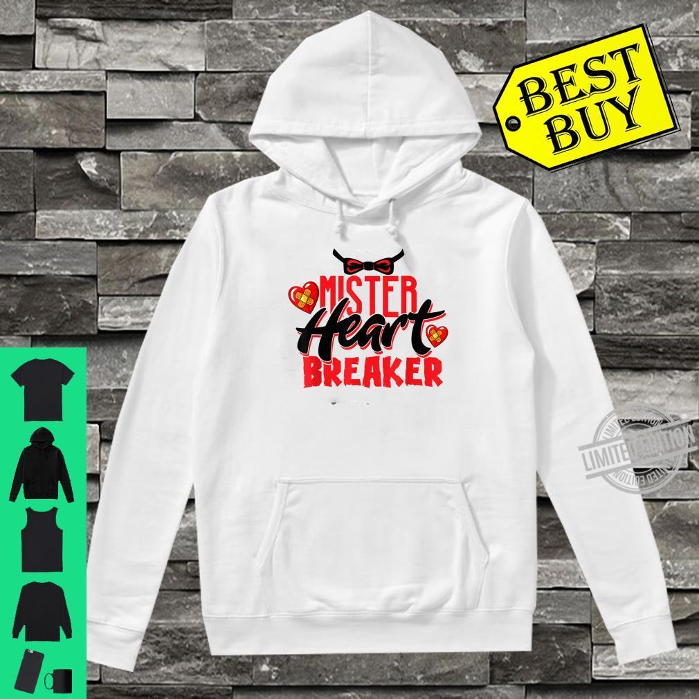 Cute Mister Heart Breaker Valentine's Day Toddler Boy & Girl Shirt hoodie