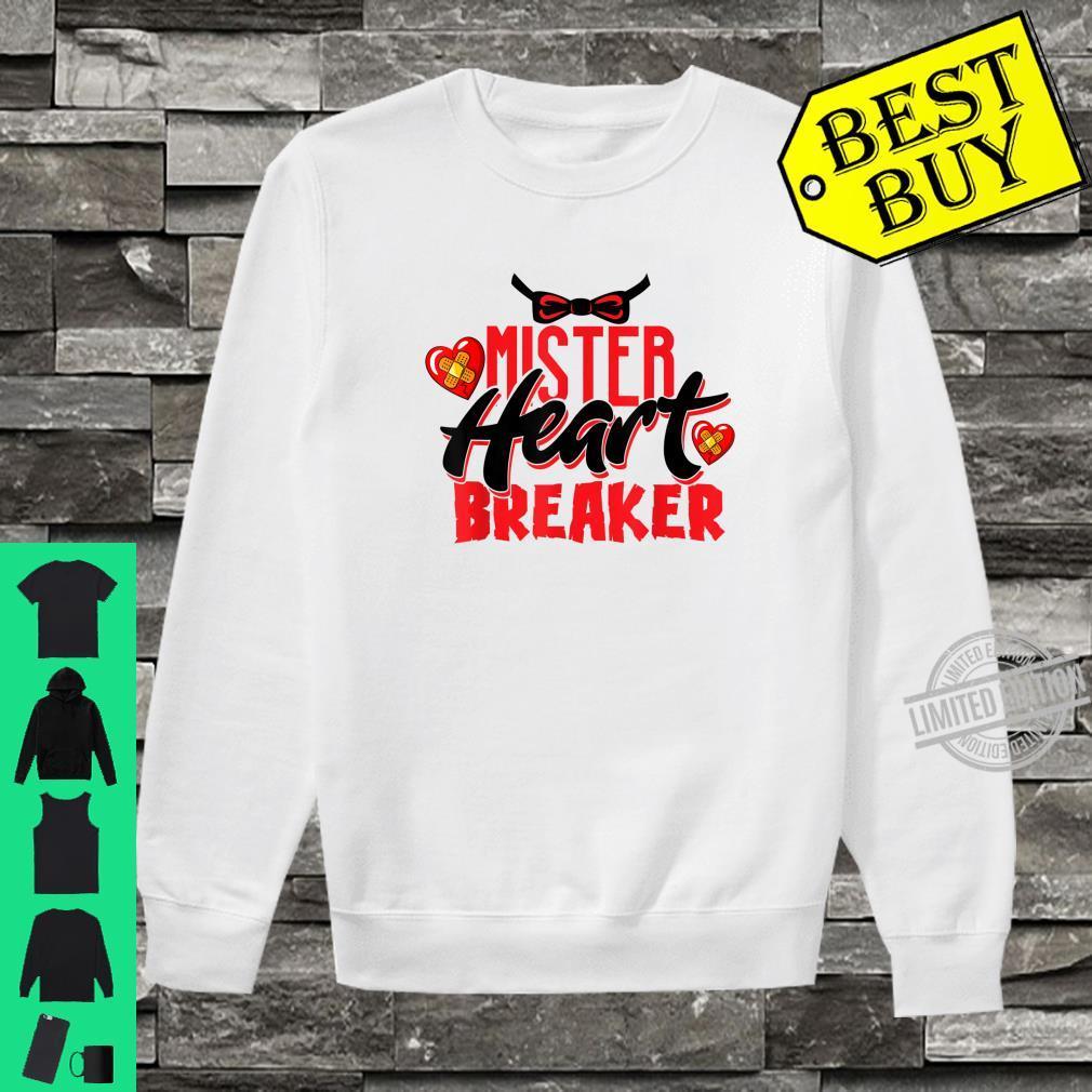 Cute Mister Heart Breaker Valentine's Day Toddler Boy & Girl Shirt sweater