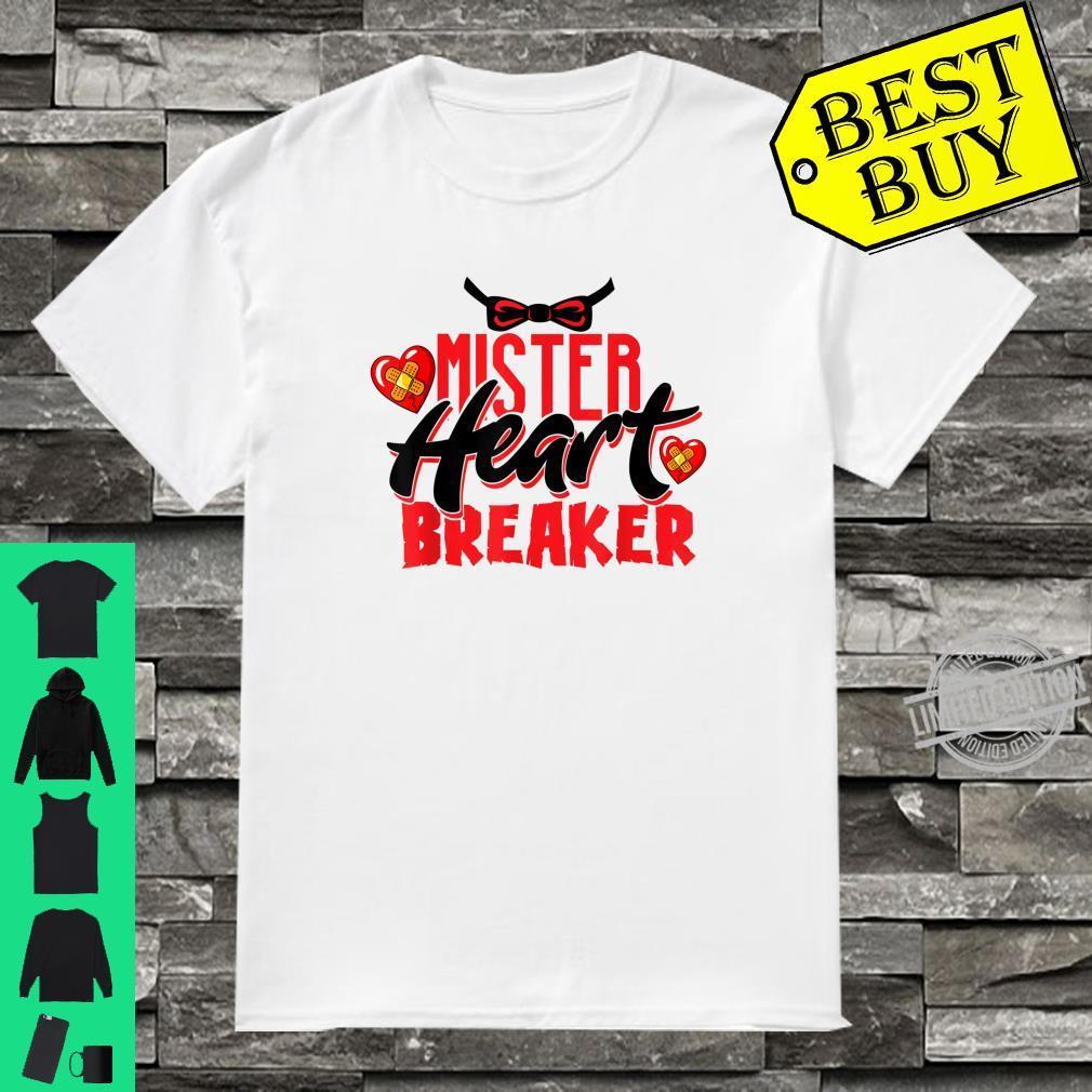 Cute Mister Heart Breaker Valentine's Day Toddler Boy & Girl Shirt