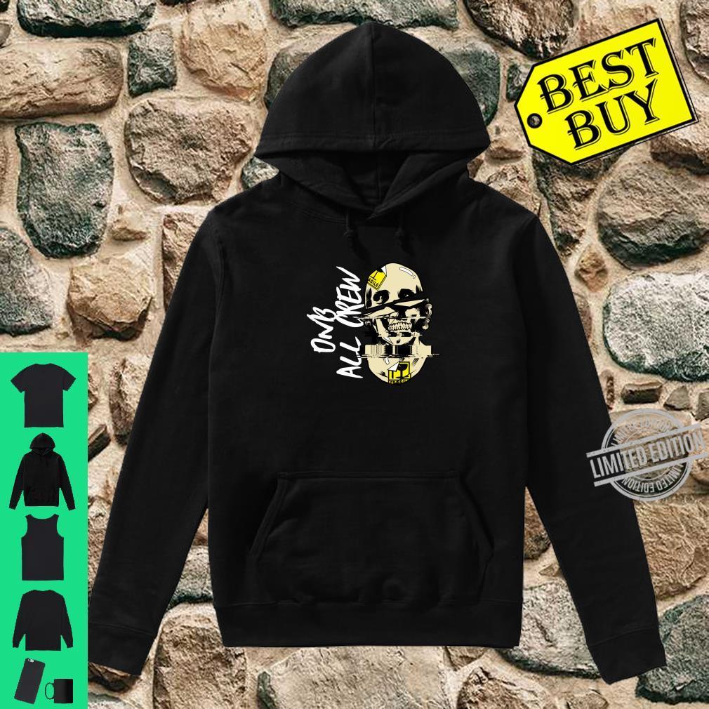 DnB Music Skull EDM Drum And Bass Shirt hoodie