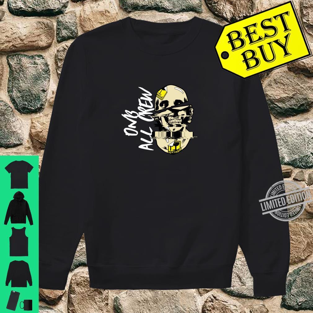 DnB Music Skull EDM Drum And Bass Shirt sweater