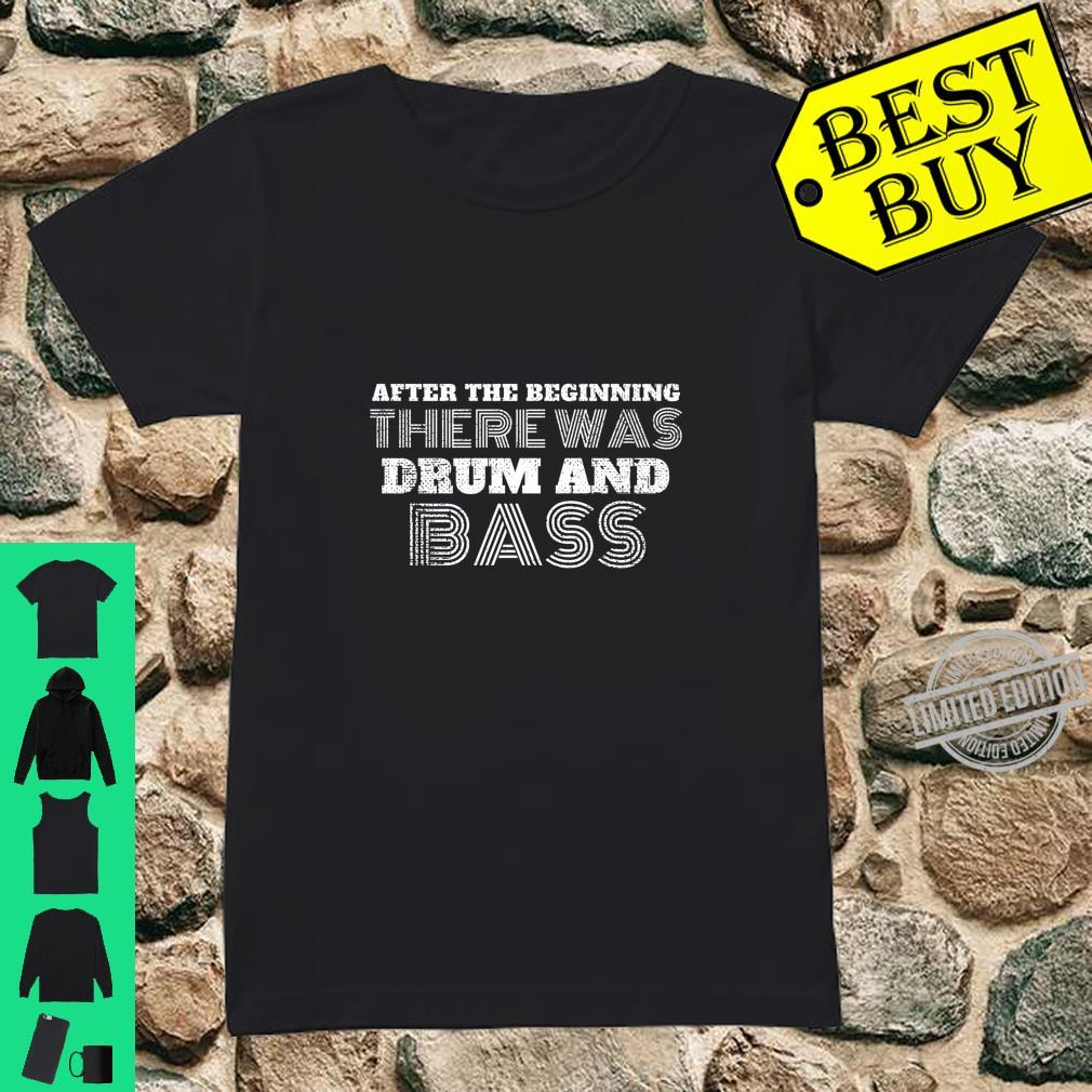Drum And Bass Music DnB Shirt ladies tee