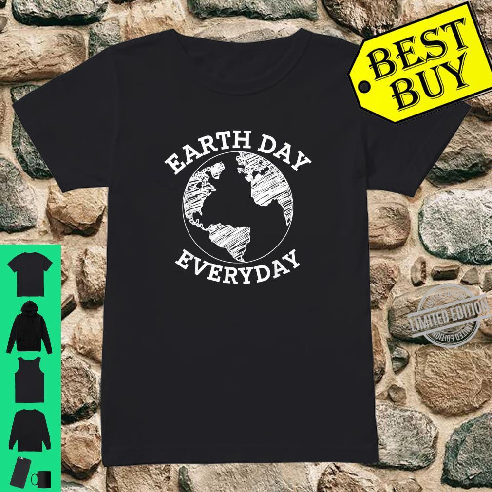 Earth Day Every Day Shirt Earth Day 2020 Shirt ladies tee