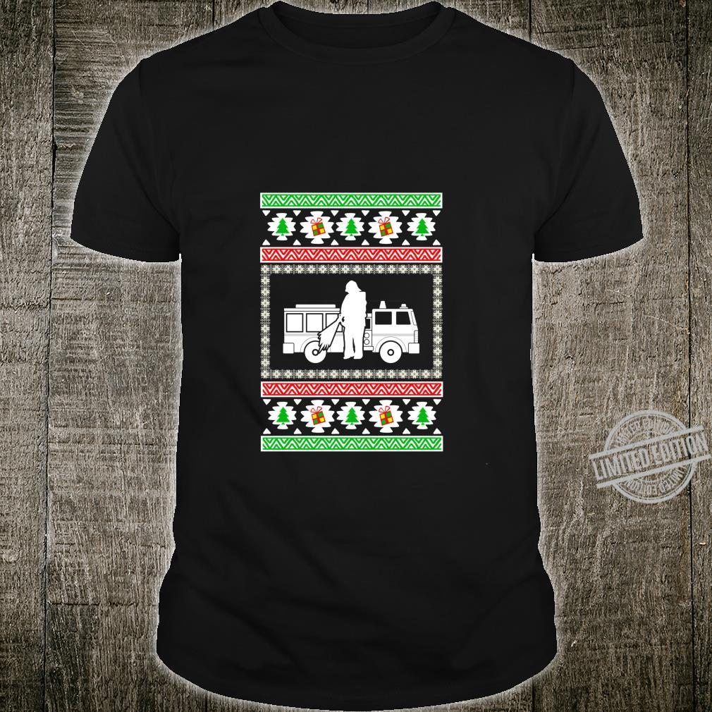 Firemen ugly christmas for firefighters Shirt