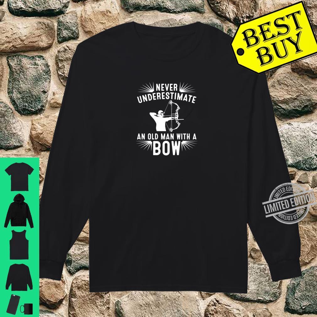 Funny Archery For Deer Bow Hunter Grandpa Hunting Shirt
