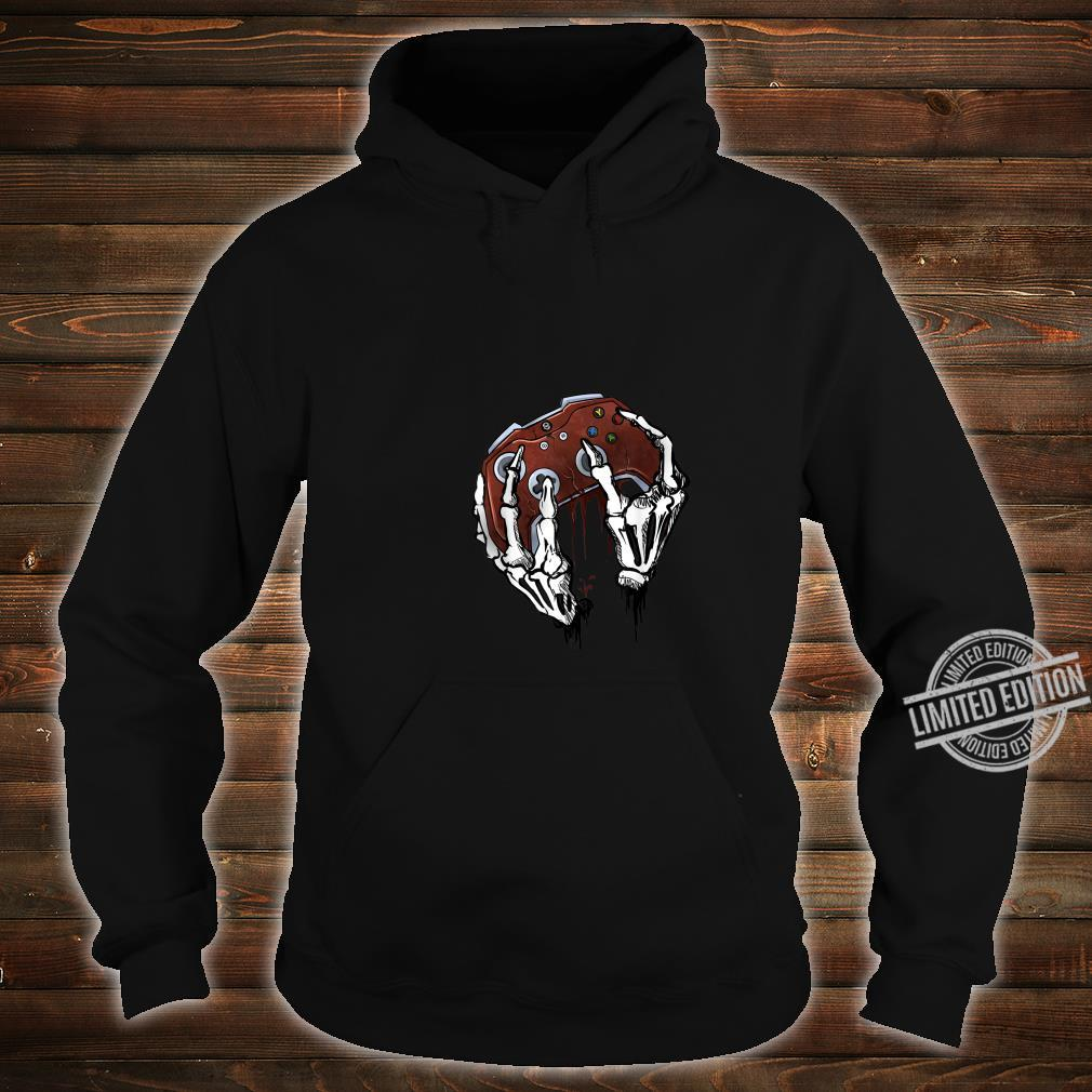 Funny Zombie Skull Video Gamer Gaming Boys Shirt hoodie