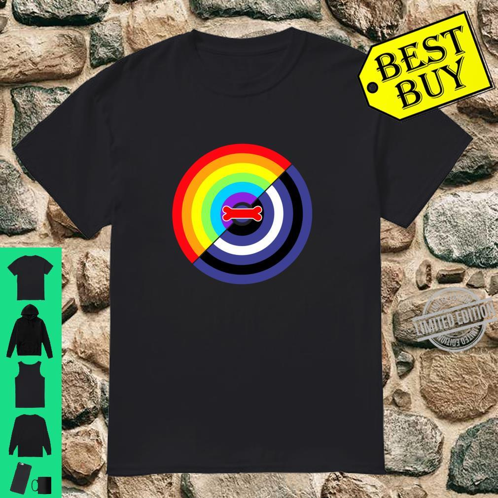 Gay Pride and Puppy Pride Design Langarmshirt Shirt