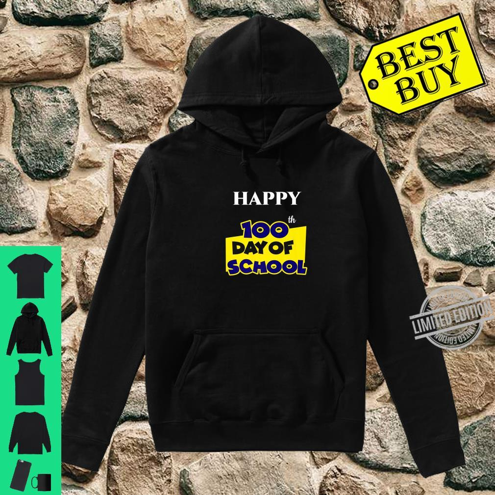 Happy 100th Day of School for Teacher or Child Shirt hoodie