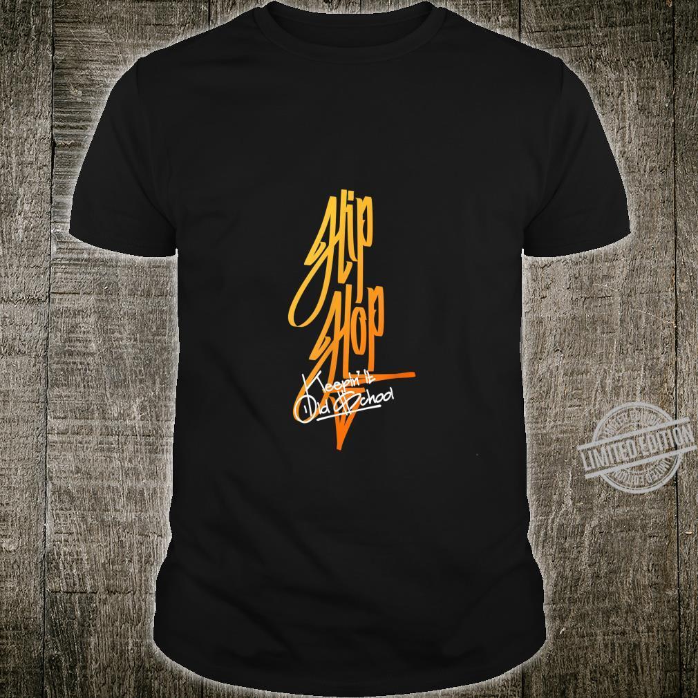 Hip Hop Graffiti Style Typography Shirt