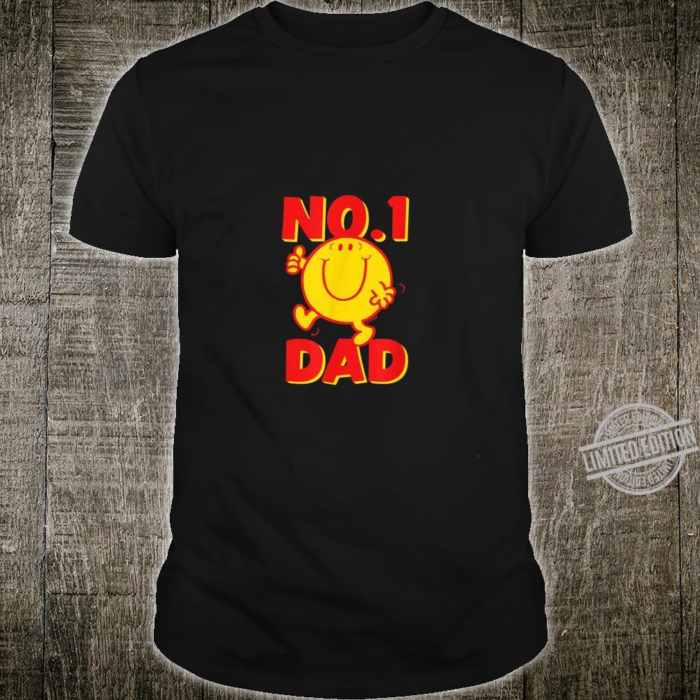 Mr. Mr. Happy No 1 Dad Number 1 Dad Shirt
