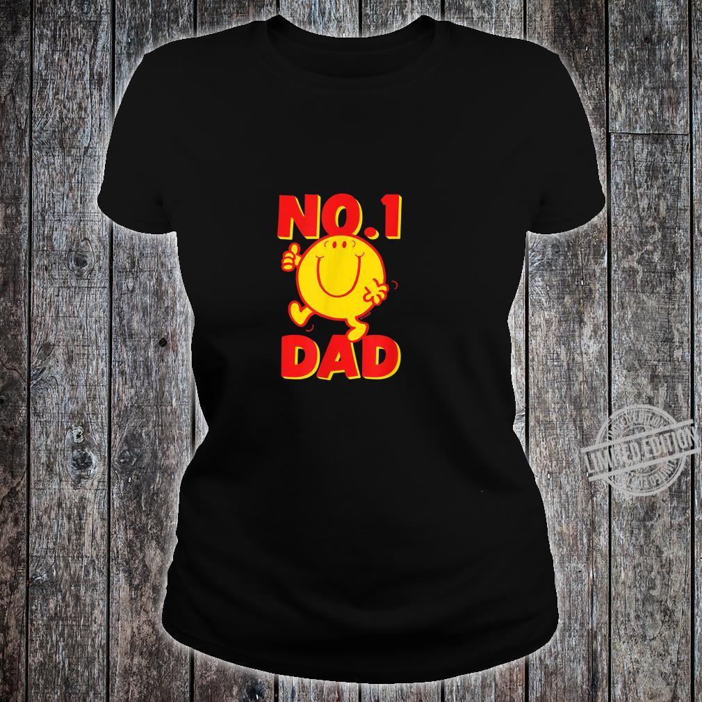 Mr. Mr. Happy No 1 Dad Number 1 Dad Shirt ladies tee