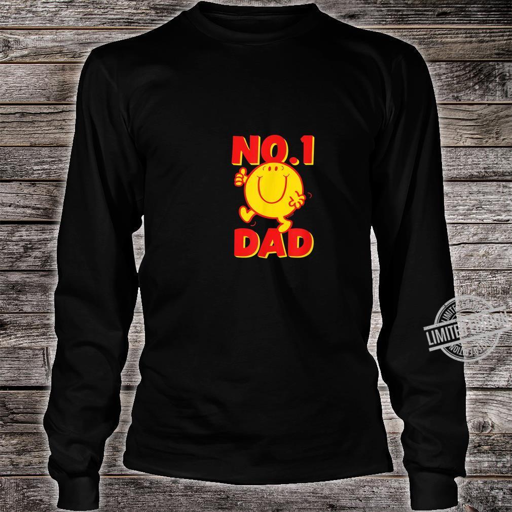 Mr. Mr. Happy No 1 Dad Number 1 Dad Shirt long sleeved