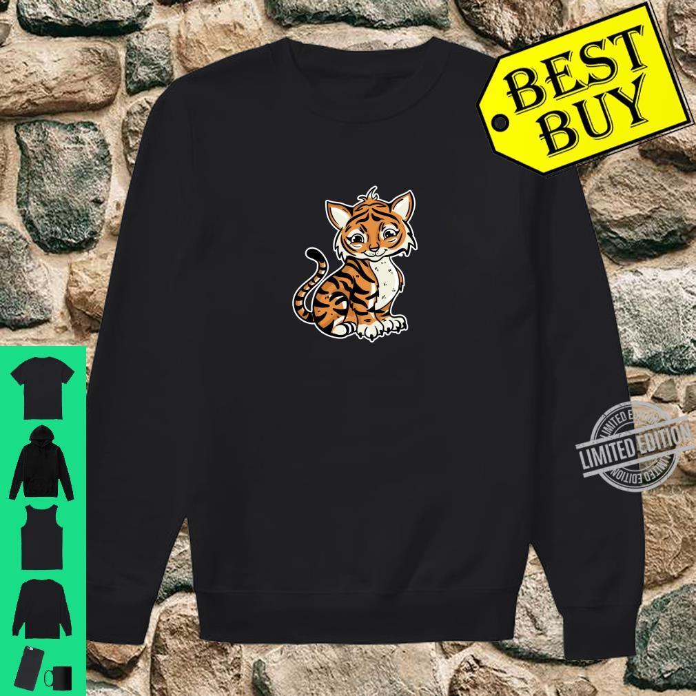 Süßer Tiger Illustration Liebesgeschenk Tiger Shirt sweater