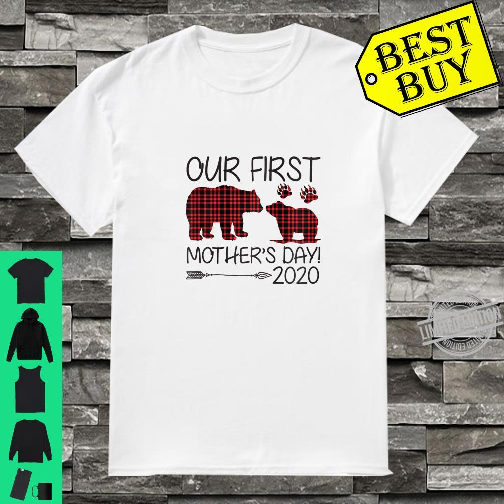 Womens Our First Mother's Day 2020 New Mom Ideas Shirt